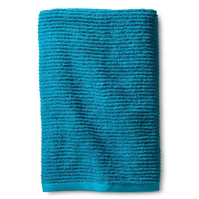 Blank Home Ribbed Portuguese Bath Towel - Caribbean