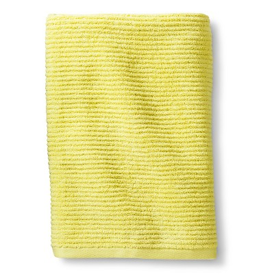 Blank Home Ribbed Portuguese Bath Towel - Lime Green
