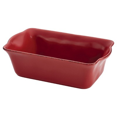 "Rachael Ray Cucina Loaf Pan - Red (9"" x 5"")"