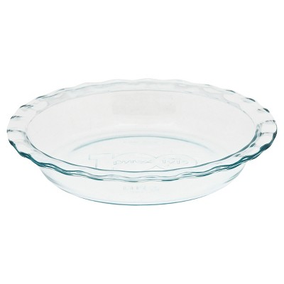Pyrex Easy Grab Pie Plate 100 Year Engraving