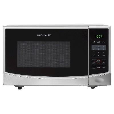 Frigidaire 0.9 Cu. Ft. 900 Watt Countertop Microwave Oven - Silver FFCM0824LS