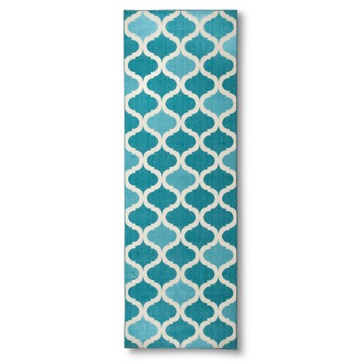 Maples Ogee Accent Rug - Blue (2'x6')