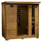 Radiant Saunas 4-Person Hemlock Infrared Sauna with 9 Carbon Heaters