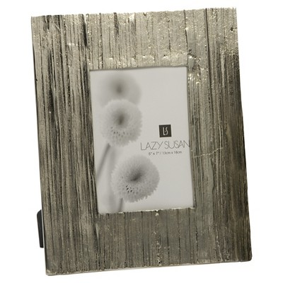 "Lazy Susan Earth Day Single Image Frame - Silver (5X7""  )"