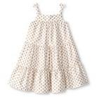 Toddler Girls' Patterned Tent Dress - Fresh White