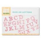 Hand Made Modern - Iron-on Letters - Pink