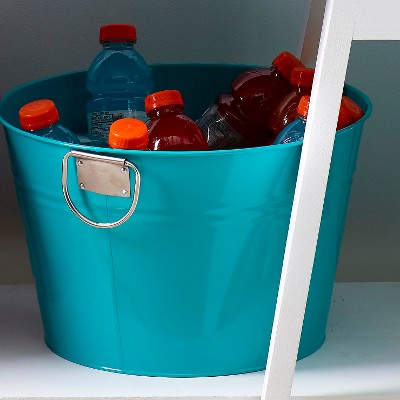 Beverage Tub EV Summer Turquoise Gem Stainless Steel
