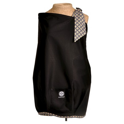 Balboa Baby Nursing Cover-Black with Diamond Trim