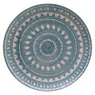 Threshold™ Geometric Dinner Plates Set of 4