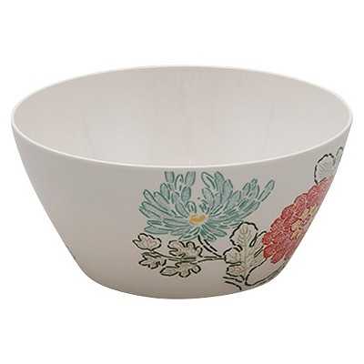 Threshold™ Floral Cereal Bowls Set of 4