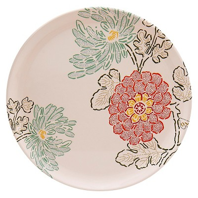 Threshold™ Round Floral Pattern Platter