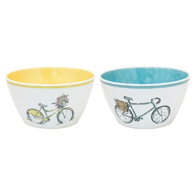 Threshold™ Dip Bowls Set of 4 - Bikes