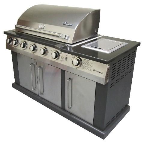 landmann gas island grill target. Black Bedroom Furniture Sets. Home Design Ideas