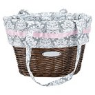 Huffy Wicker Basket with Liner Bag