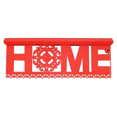 Drew De Wall Shelf - Fiesta Red