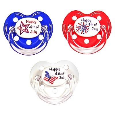 MeaMagic 4th of July Pacifier Set