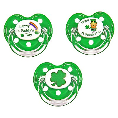 MeMagic St. Patricks Day Pacifier Set