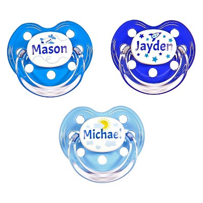 MeaMagic Boy Sky Pacifier Set