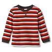Infant Toddler Boys' Striped Thermal Tee