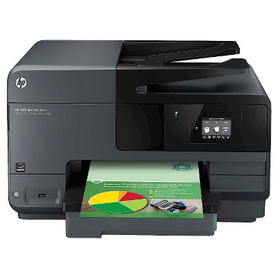 HP - Officejet Pro 8610 e-All-in-One Wireless All-In-One Printer - Black