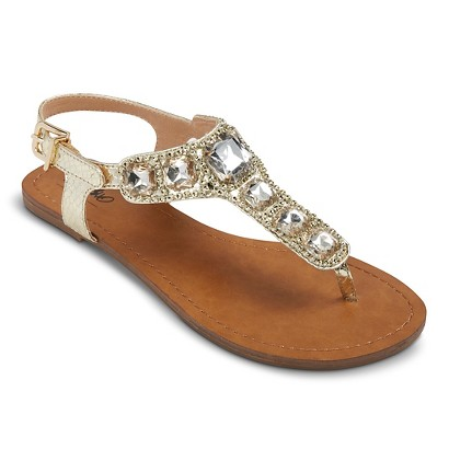f527f96d9c9 Women's Isabella Embellished Sandals   Target