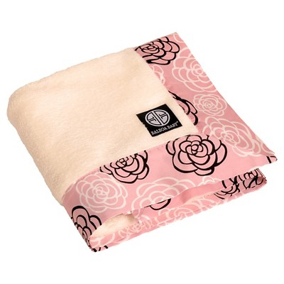 Balboa Baby Simply Soft Blanket-Pink Camelia