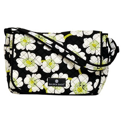 Balboa Baby Messenger Bag - Lime Poppy