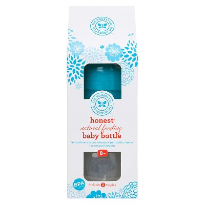 The Honest Company Baby Bottle 8oz Teal