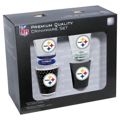 Pittsburgh Steelers Shot Glass 4pc