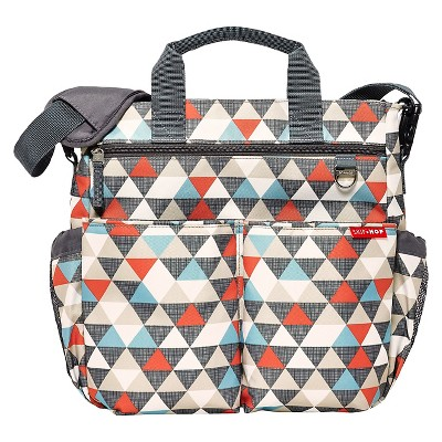 Skip Hop Duo Signature Diaper Bag Triangles