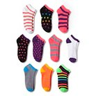 Modern Heritage™ Women's Multi Bright Combo Low Cut Sock 10pk - Bright Pink 9-11