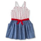 Toddler Girls' Floral & Chambray Sun Dress - Chambray