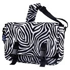 Wildkin Zebra Jumpstart Messenger Bag