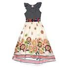 Girls' Maxi Chiffon Dress