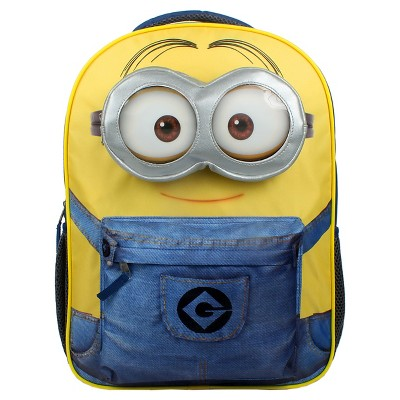"Despicable Me - Minion in Overalls 16"" Backpack - Black"