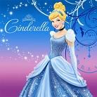 Disney's Cinderella Sparkle Party Paper Dinner Napkins (16 count)