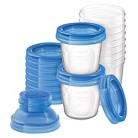 Avent Breast Milk Storage Kit - Clear