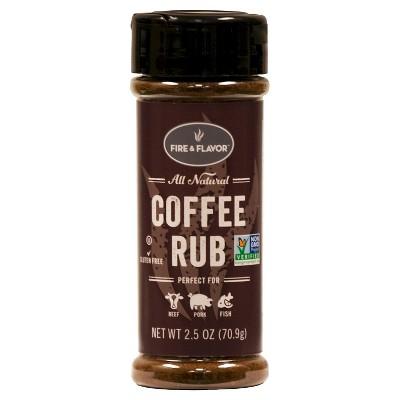 Fire & Flavor COFFEE RUB 2.5OZ