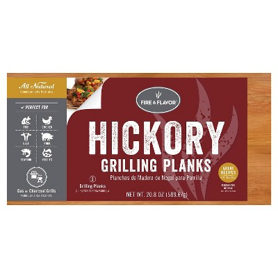Fire & Flavor HICKORY GRILLING PLANKS 11""