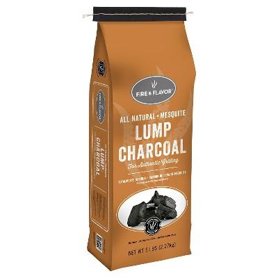 Fire & Flavor MESQUITE LUMP CHARCOAL 5LB