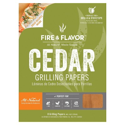 Fire & Flavor WESTERN RED CEDAR PAPERS