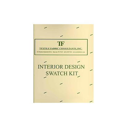 ISBN 9781936480166 Product Image For Interior Design Swatch Kit Hardcover