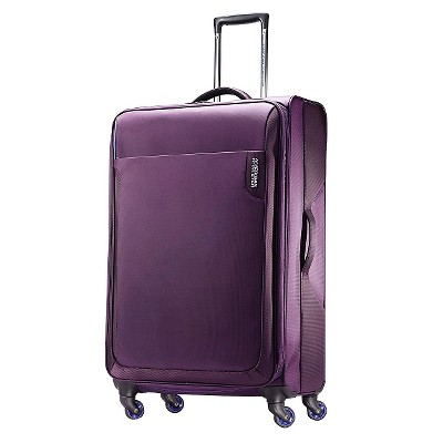 "American Tourister Applite 28"" Spinner Luggage - Purple"