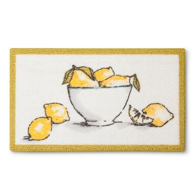 Threshold™ Lemons Accent Rug - Yellow