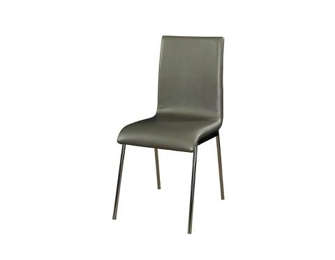 Putnam Dining Chair Metal Gray Set of 4 Powe Tar