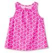 Toddler Girls' Heart Swing Tank - Sunglow Pink