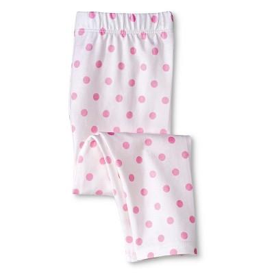 Newborn Girls' Legging Pants True White 3-6 M