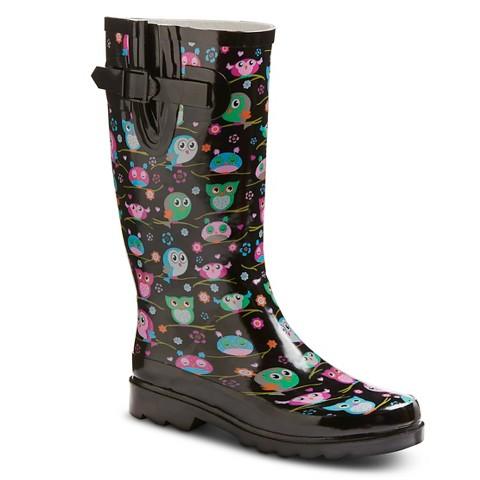 Unique Women39s Classic Dot Rain Boots