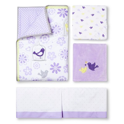 Circo™ 4pc Crib Bedding Set - Sweet Tweets