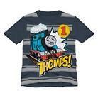 Thomas the Tank Engine Infant Toddler Boys Striped Tee - Gray
